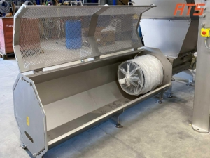 Bag emptying machine in stainless steel 05